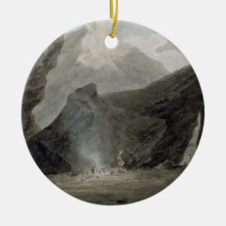 Near Chiavenna in the Grisons, c.1779 (w/c, black Ceramic Ornament