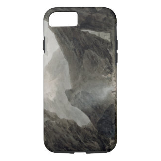 Near Chiavenna in the Grisons, c.1779 (w/c, black iPhone 7 Case