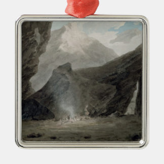 Near Chiavenna in the Grisons, c.1779 (w/c, black Metal Ornament