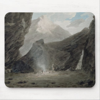 Near Chiavenna in the Grisons, c.1779 (w/c, black Mouse Pad