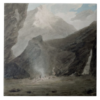Near Chiavenna in the Grisons, c.1779 (w/c, black Tile