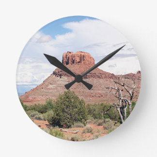 Near Dead Horse Point State Park, Utah, USA 1 Round Clock