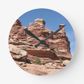 Near Dead Horse Point State Park, Utah, USA 2 Round Clock