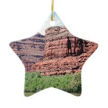 Near Dead Horse Point, Utah 3 Ceramic Ornament