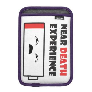 Near Death Battery iPad Mini Sleeve