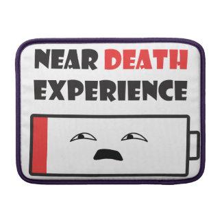 Near Death Battery MacBook Sleeve