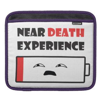 Near Death Battery Sleeve For iPads