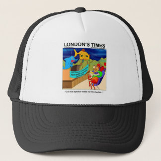 Near Death Experience Funny Fishing Gifts & Tees Trucker Hat