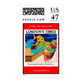 Near Death Experience Funny Fishing Postage Stamps