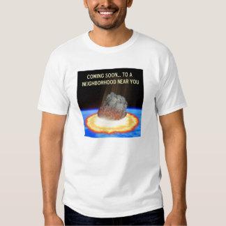 Near-Earth Asteroid T-shirts