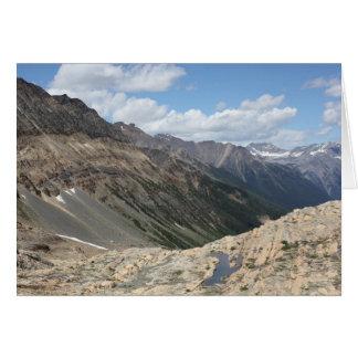 Near Farnham Glacier, Jumbo Pass, British Columbia Card