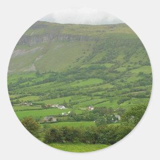 Near Glencar Lough In Ireland Stickers