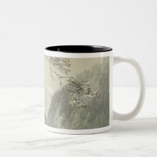 Near Grindelwald, c.1796 (blue & grey wash over gr Two-Tone Coffee Mug