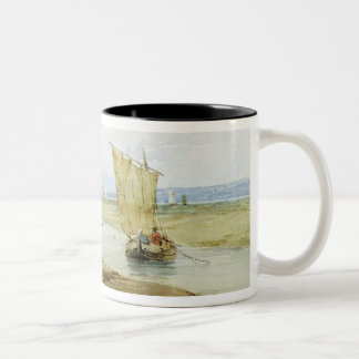 Near Honfleur, c.1822 (w/c over graphite on paper) Coffee Mugs