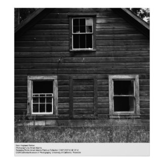 Near Hopland Station by Ansel Adams Poster