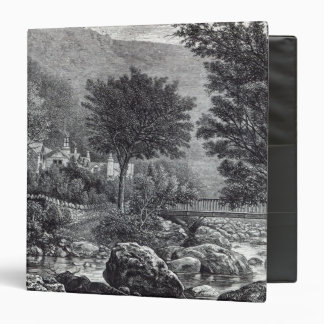 Near Lynmouth, from 'Leisure Hour', 1888 Binder
