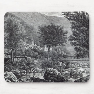 Near Lynmouth, from 'Leisure Hour', 1888 Mouse Pad