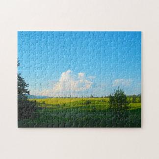 Near Moscow Idaho Jigsaw Puzzle