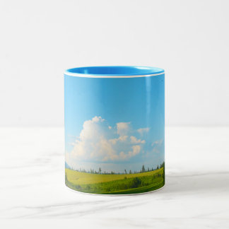 Near Moscow Idaho Two-Tone Coffee Mug