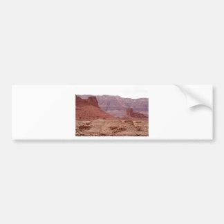Near Navajo Bridge, Arizona, USA Car Bumper Sticker