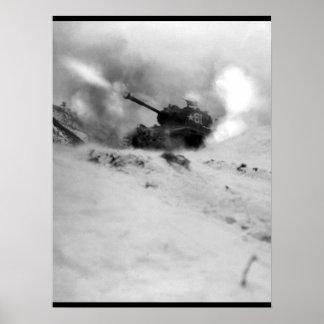 Near Song Sil-li, Korea, a tank of 6th _War Image Poster