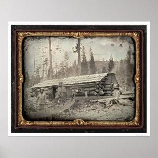 Near Sugar Loaf Hill, 1852 by Starkweath Poster