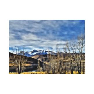 Near Sundance Resort in Utah Stretched Canvas Print