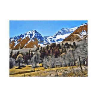 Near Sundance Resort in Utah Stretched Canvas Prints