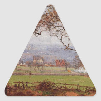 Near Sydenham Hill, Looking towards Lower Norwood Triangle Sticker
