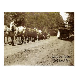 Near Tahoe - 1908 Postcard