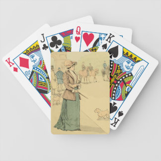 Near the Arc de Triomphe 1890 Bicycle Playing Cards