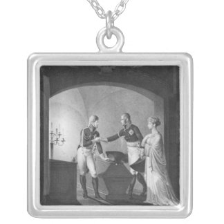 Near the ashes of Friederick II Silver Plated Necklace