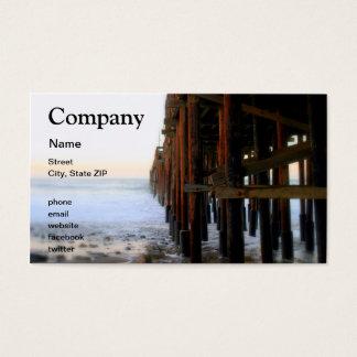 Near The Pier Business Card