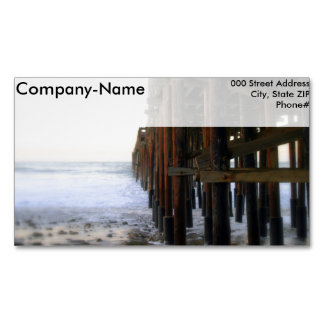 Near The Pier Magnetic Business Card