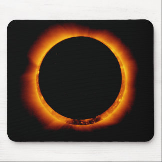 Near Total Solar Eclipse Mouse Pad