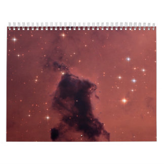 Nearby Dust Clouds in the Milky Way Calendar