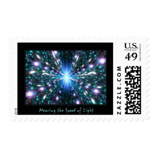 Nearing the Speed of Light Postage Stamps