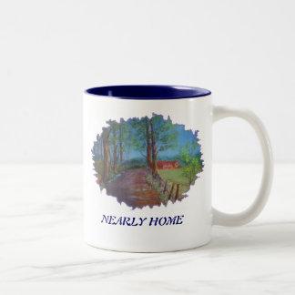 Nearly home coffee mugs