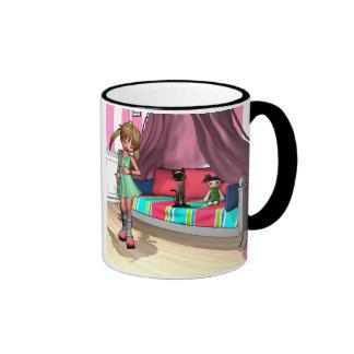NearMe and Noodles Ringer Mug