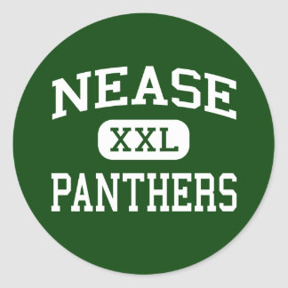 Nease - Panthers - High - Saint Augustine Florida Classic Round Sticker