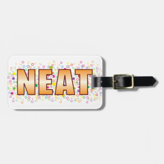 Neat Bubble Tag Bag Tags