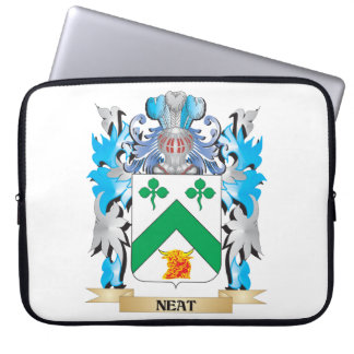 Neat Coat of Arms - Family Crest Laptop Computer Sleeve