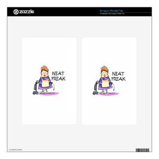Neat Freak Decals For Kindle Fire
