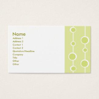 Neat Pattern Business Card
