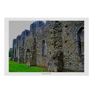 Neath Abbey Ruins, 3 Neath Port Talbot, Wales Poster