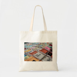 neatly displayed bookstore tote bag