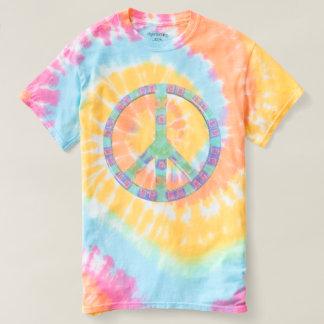 Neato Pastel Peace Symbol T-shirt