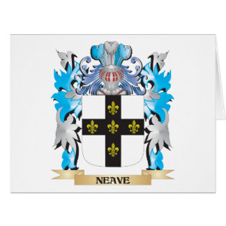 Neave Coat of Arms - Family Crest Greeting Card