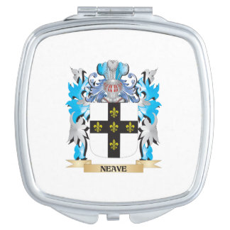 Neave Coat of Arms - Family Crest Travel Mirror
