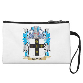 Neaves Coat of Arms - Family Crest Wristlet Clutch